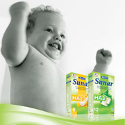 Hypoalergénne mlieka Sunar