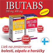 IBUTABS- liek na zmiernenie bolesti, zápalu a horúčky