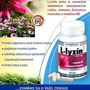 Podpora imunity, prevencia herpesov- L lyzin