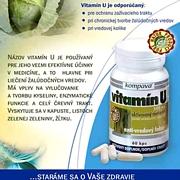 Ochrana tráviaceho traktu- Vitamin U