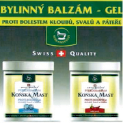 Konská masť- bylinný balzam- gél