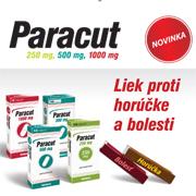 Liek proti horúčke a bolesti- Paracut