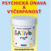 Psychická únava a vyčerpanosť– Sativol