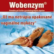 Vaginálne mykózy - Wobenzym